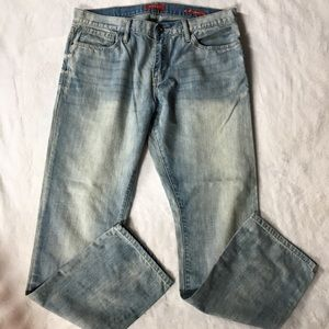 Guess men's jeans straight slim fit 34x32